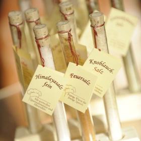Salzprodukte im Wellnesshaus Sporbeck