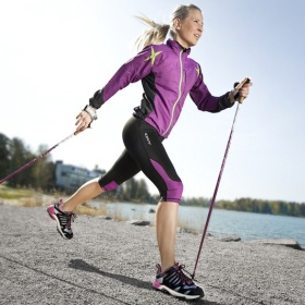 Nordic Walking bei Reha-Fitness Sporbeck