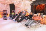Entspannter und wohltuender Aufenthalt in der Salzgrotte Kirchzarten