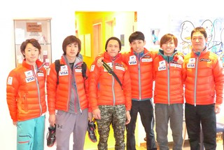 Ski Team Japan zum Training bei Reha-Fitness Sporbeck